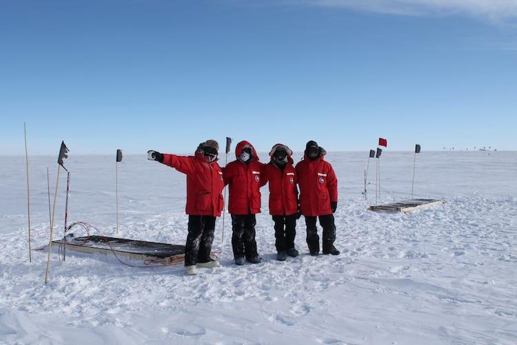 Scintillators at Pole