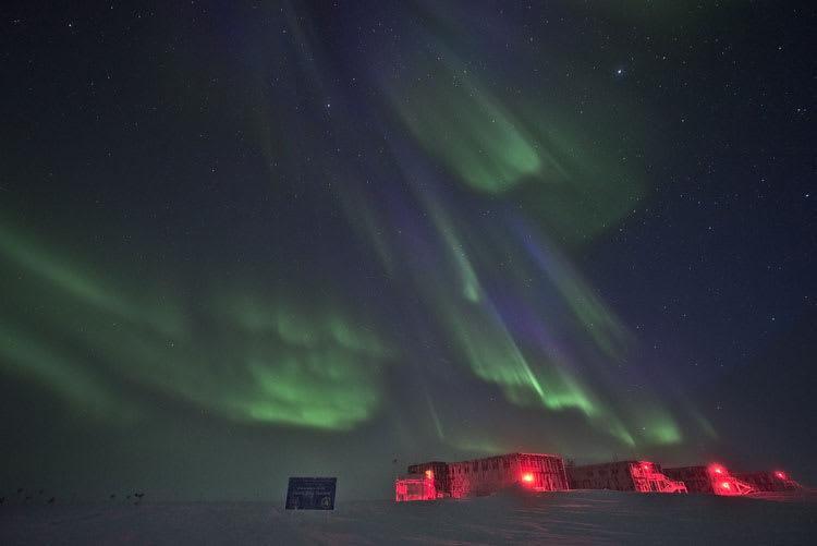 auroras frontofstation