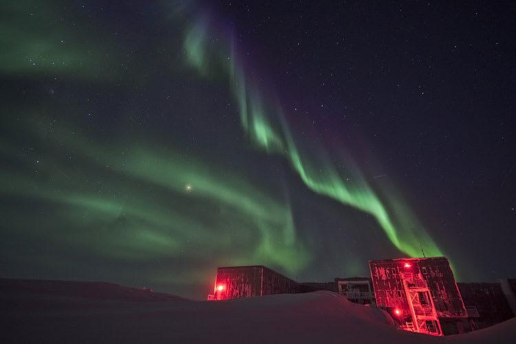 auroras backofstation
