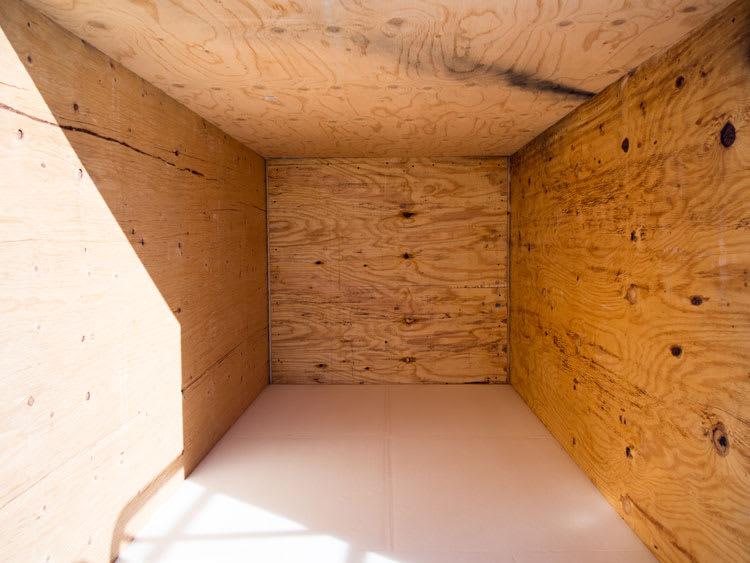 empty crate
