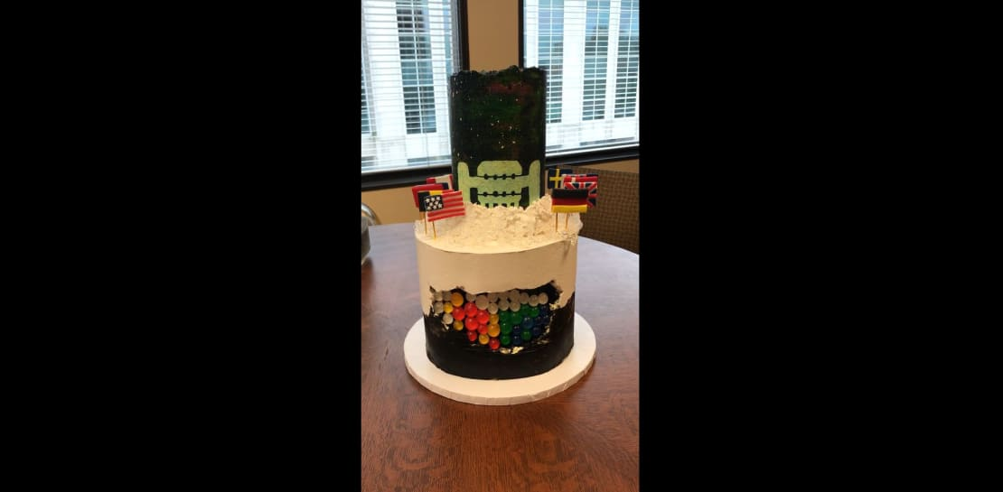 IceCube Cake video tour