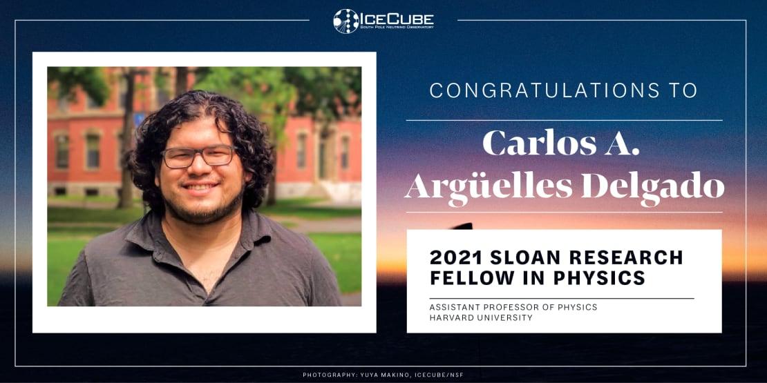 2021 Sloan Fellow Carlos Arguelles