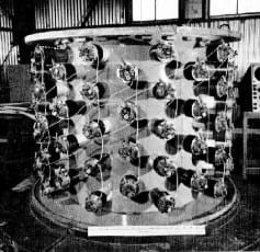 The Cowan-Reines experimental set-up.
