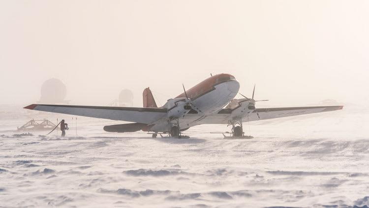 first plane