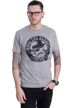Broilers - Barbell Club Grey - T-Shirt