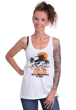 Broilers - Dieses Sommermärchen Ist Vorbei White - Girl Tank