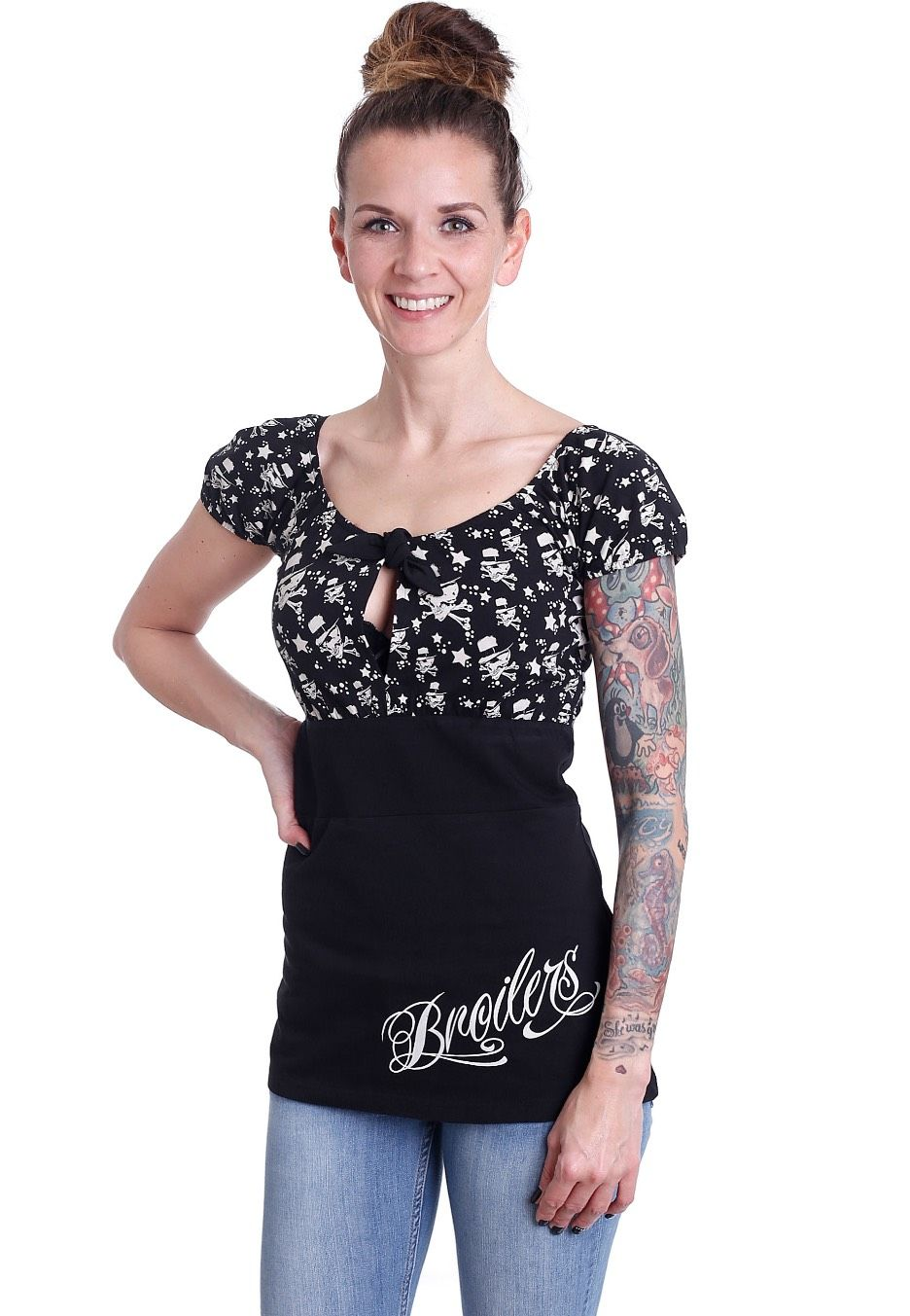 broilers logo girl top shopbroilersde