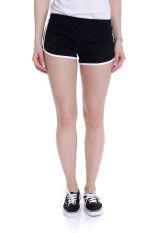 American Apparel - Interlock Black/White - Hotpants