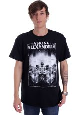 Asking Alexandria - Mirrorskull - T-Shirt
