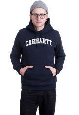 Carhartt WIP - Hooded Yale Navy/White - Hoodie