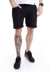 Cheap Monday - High Cut Rinse Black - Shorts