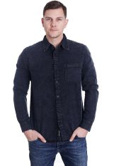 Cheap Monday - Rude Denim Worn Black - Shirt