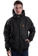 Cleptomanicx - Polarzipper Hemp II Dark Brown - Jacket