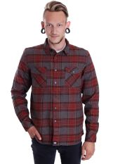 Dickies - Wallace L/S Red - Shirt