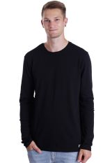 Element - Basic Crew Flint Black - Longsleeve