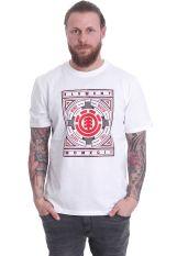 Element - Emblem Optic White - T-Shirt