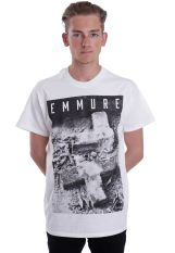 Emmure - Graveyard White - T-Shirt