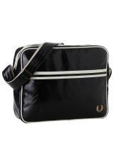 Fred Perry - Classic Shoulder Black/Ecru - Bag