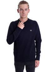 Fred Perry - Loopback Navy - Sweater