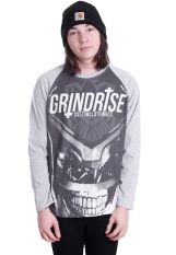 Grindrise Clothing - Grudge Grey - Longsleeve