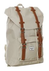 Herschel - Little America Mid-Volume Pelican/Tan Synthetic Leather - Backpack
