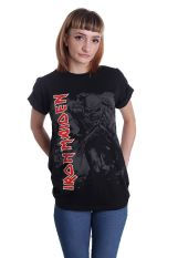 Iron Maiden - Hi Contrast Trooper - T-Shirt