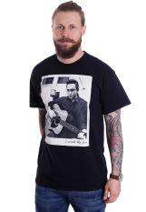 Johnny Cash - Walk The Line Polaroid - T-Shirt