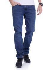 Levi's - Line 8 Slim Straight Orange Tab Blue Authentic - Jeans