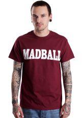 Madball - Enemies Burgundy - T-Shirt