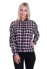 Mazine - Ruskie Bordeaux/Navy Checkered - Shirt