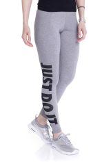 Nike - Leg-A-See-JDI Charbon Heather/Black - Leggings