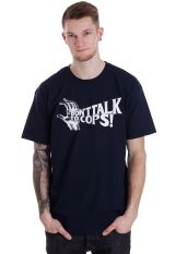 Obey - Don't Talk To Cops Navy - T-Shirt