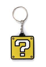 Super Mario - Block Rubber Yellow - Keychain
