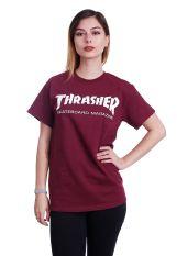 Thrasher - Thrasher Skate-Mag Maroon - T-Shirt