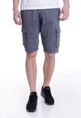 Urban Classics - Fitted Cargo Darkgrey - Shorts