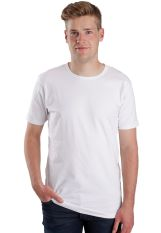 Urban Classics - Fitted Stretch White - T-Shirt