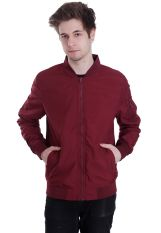 Urban Classics - Light Bomber Burgundy - Jacket