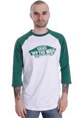 Vans - OTW Mono Raglan White/Verdant Green - Longsleeve
