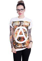 Wolf Down - True Love White - T-Shirt