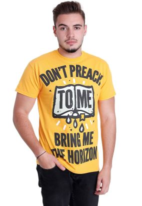 Bring Me the Horizon - Don't Preach Yellow - T-Shirt