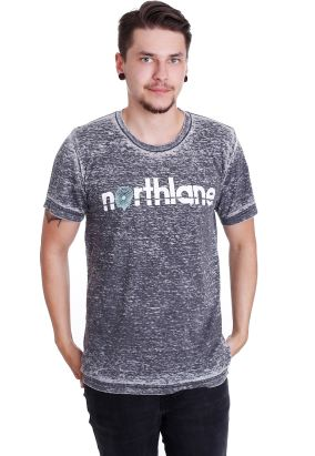 Northlane - Brain Game Acid Wash - T-Shirt