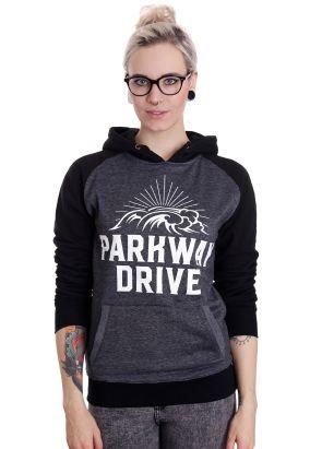 Parkway Drive - Surf Badge Charcoal/Black - Hoodie