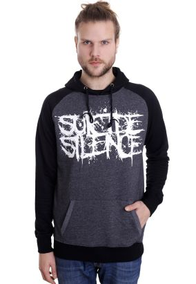 Suicide Silence - Pull The Trigger Charcoal/Black - Hoodie