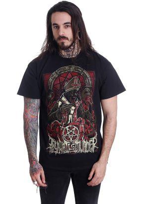 Thy Art Is Murder - Evil Pope - T-Shirt
