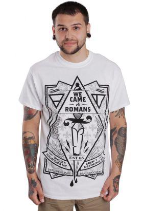 We Came As Romans - Dagger White - T-Shirt