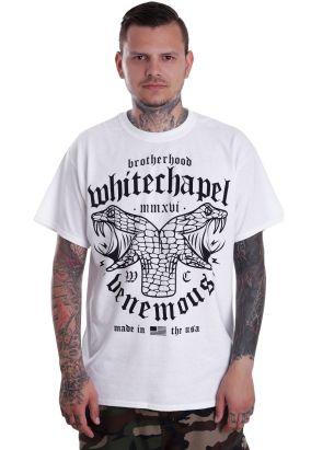Whitechapel - Venemous White - T-Shirt