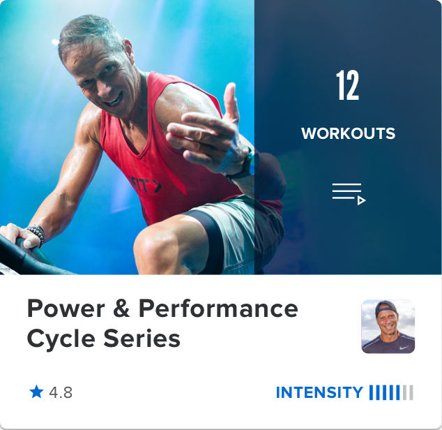 power and performance cycling workout