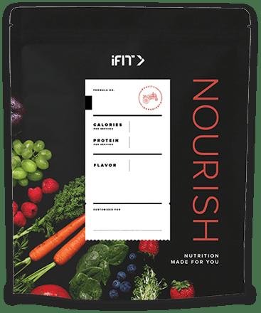 A bag of iFit Nourish