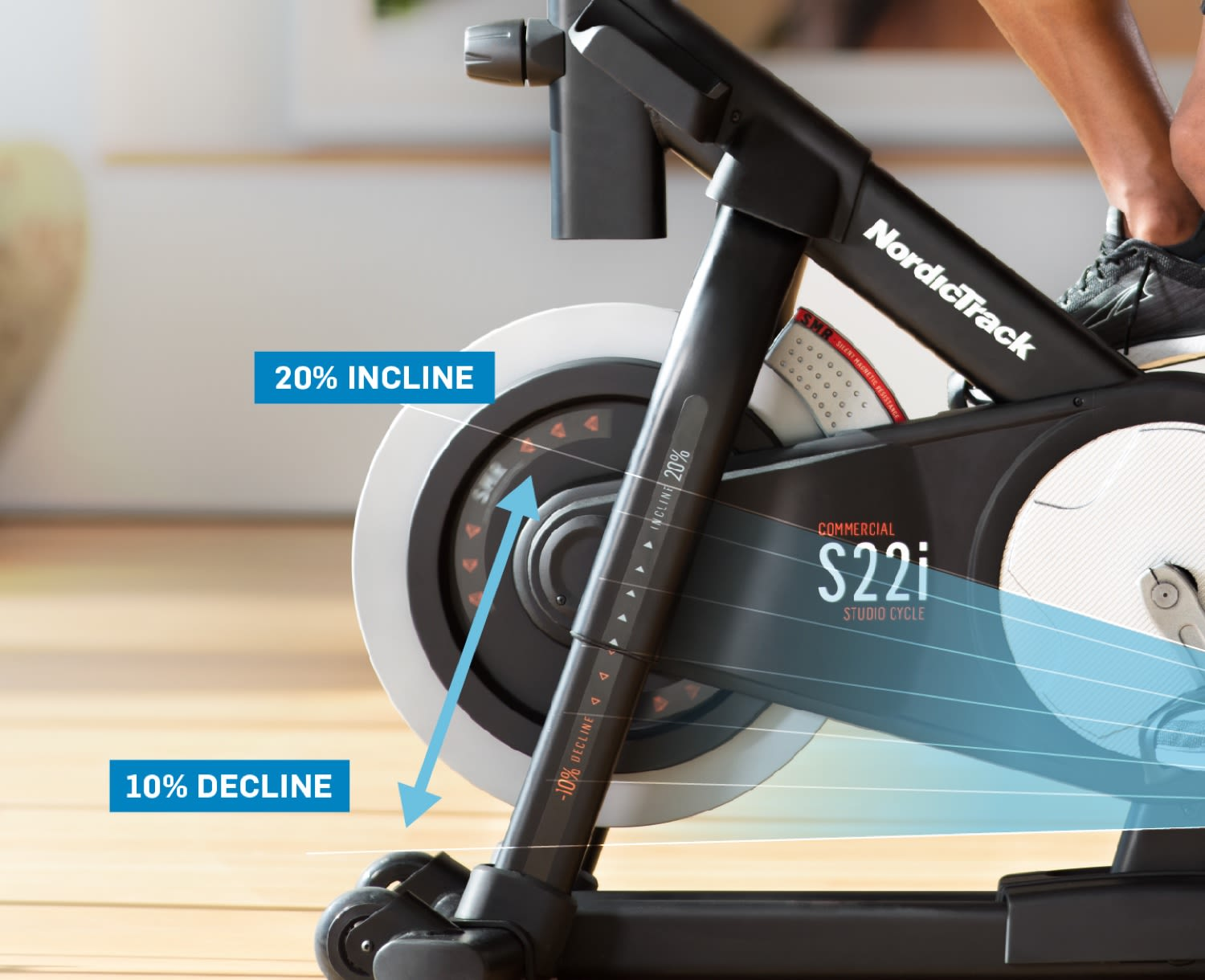 NordicTrack Com. S22i Studio Cycle