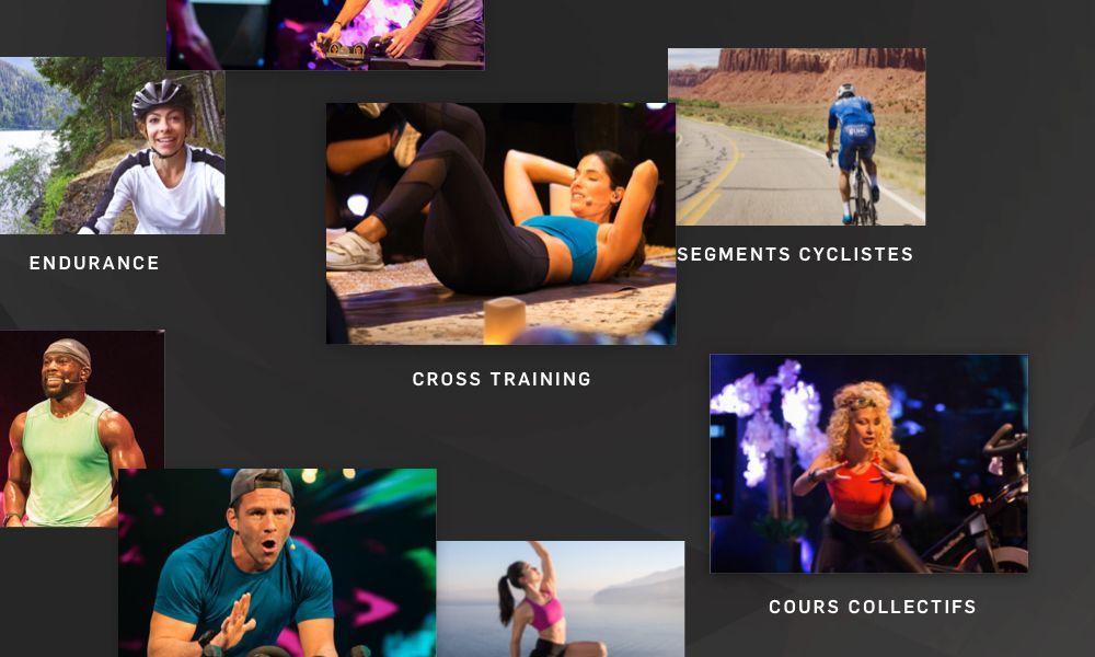 Ne vous ennuyez plus jamais grâce à une large variété d'exercices. Depuis les séances en studio aux entrainements mondiaux en passant par les options d'exercices polyvalents comme le yoga ou la sculpture du corps, vous disposez d'un choix illimité.